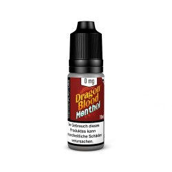 Dragon Blood e-Liquid with menthol