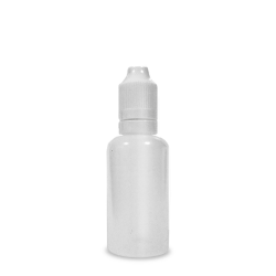 e-Liquid bottle with child-resistant safety cap 30ml