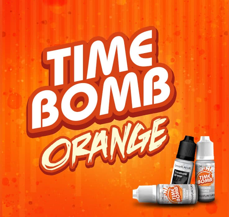 Timebomb Orange Liquid und Aroma